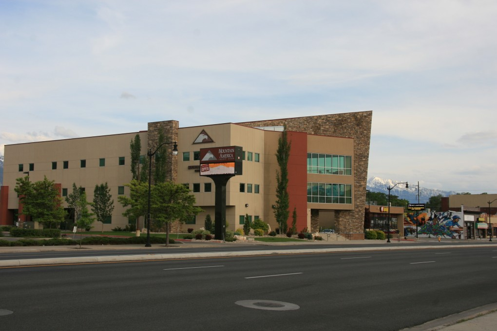 Mountain America Credit Union Metro, Salt Lake City Utah