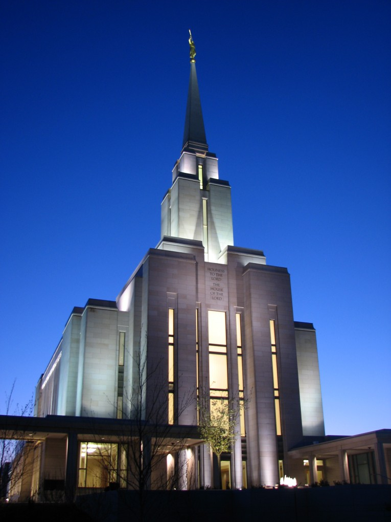 Oquirrh Mountain LDS Temple, South Jordan Utah